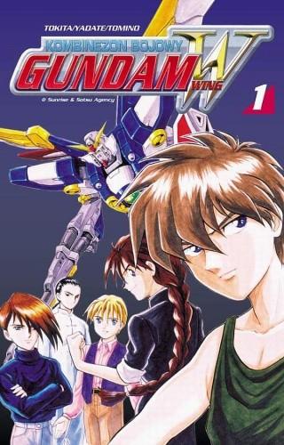 Okładka książki Kombinezon bojowy Gundam Wing 1