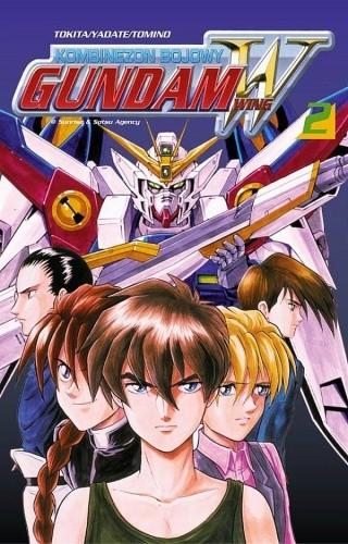 Okładka książki Kombinezon bojowy Gundam Wing 2