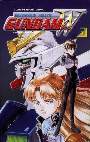 Okładka książki Kombinezon bojowy Gundam Wing 3