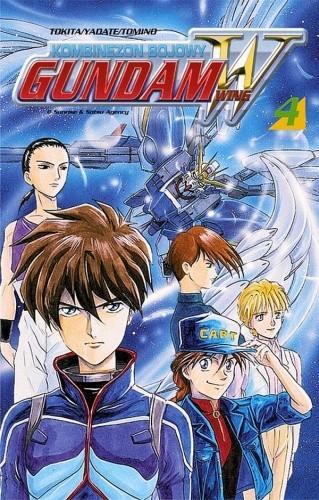 Okładka książki Kombinezon bojowy Gundam Wing 4
