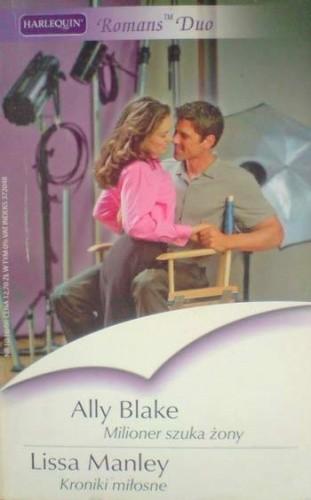 Okładka książki Milioner szuka żony. Kroniki miłosne