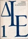 Okładka książki Dzieje literatur europejskich  Tom I