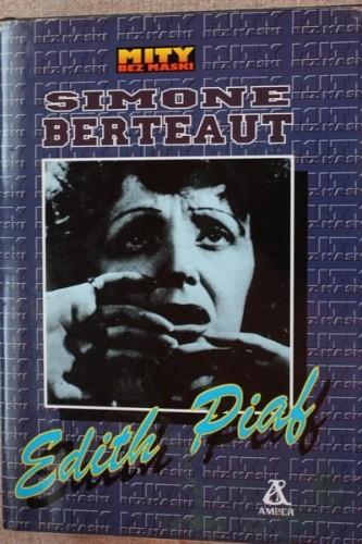 Okładka książki Edith Piaf