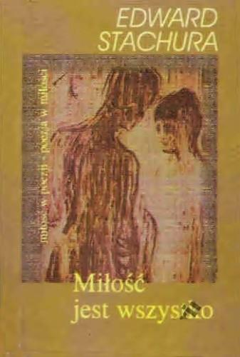 Okładka książki Miłość jest wszystko