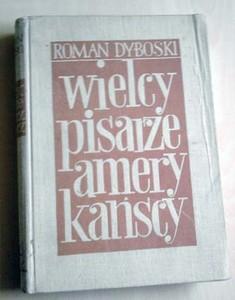Okładka książki Wielcy pisarze amerykańscy