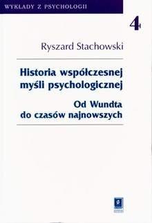 Okładka książki Historia współczesnej myśli psychologicznej