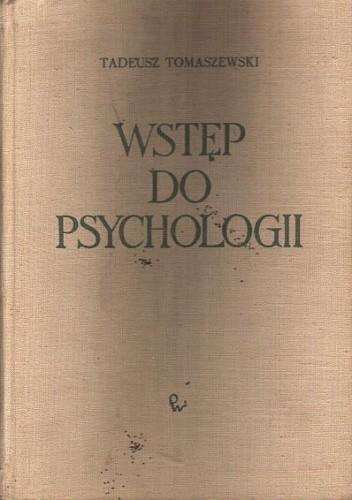 Okładka książki Wstęp do psychologii