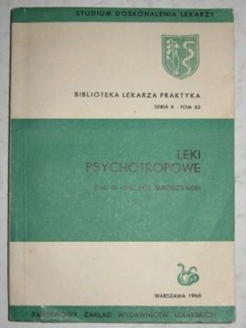 Okładka książki Leki psychotropowe