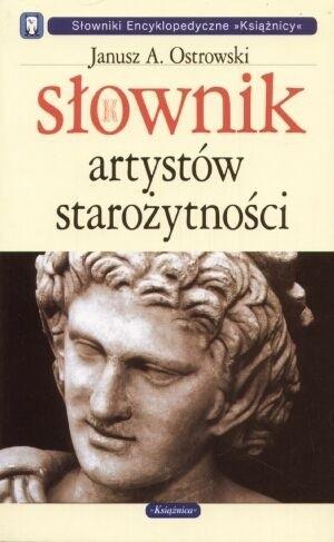 Okładka książki Słownik artystów starożytności