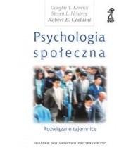 Okładka książki Psychologia społeczna. Rozwiązane tajemnice