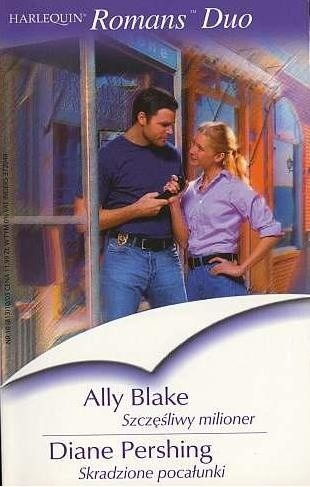 Okładka książki Szczęśliwy milioner. Skradzione pocałunki