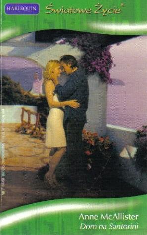 Okładka książki Dom na Santorini