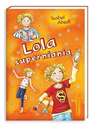 Okładka książki Lola supernianią