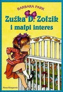 Okładka książki Zuźka D. Zołzik i małpi interes