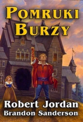 Okładka książki Pomruki Burzy