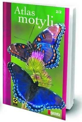 Okładka książki Atlas motyli, t.2