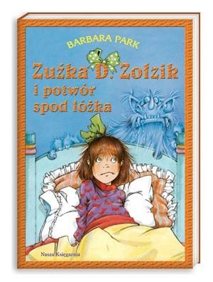 Okładka książki Zuźka D. Zołzik i potwór spod łóżka