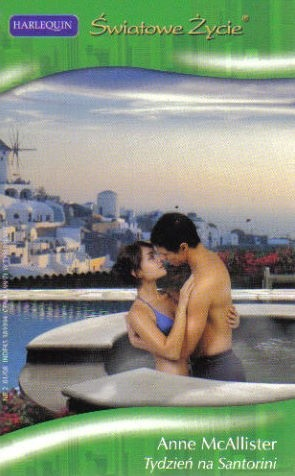 Okładka książki Tydzień na Santorini