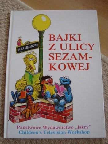 Okładka książki Bajki z ulicy sezamkowej