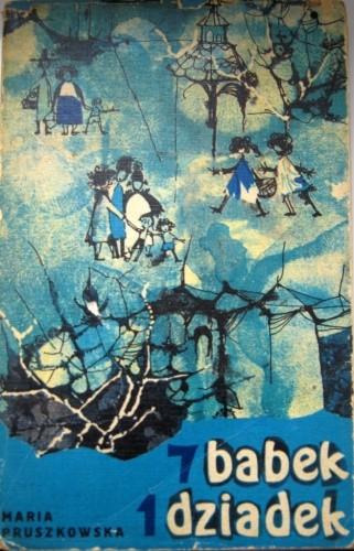 Okładka książki 7 babek, 1 dziadek