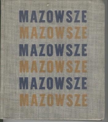 Okładka książki Mazowsze