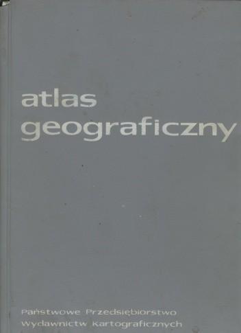 Okładka książki Atlas geograficzny