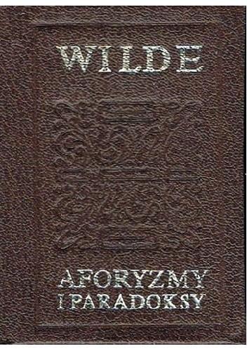 Okładka książki Aforyzmy i paradoksy