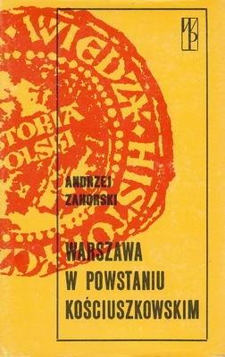 Okładka książki Warszawa w powstaniu kościuszkowskim
