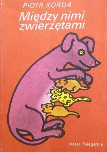 Okładka książki Między nimi zwierzętami