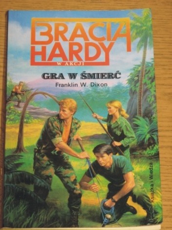 Okładka książki Bracia Hardy. Gra w śmierć