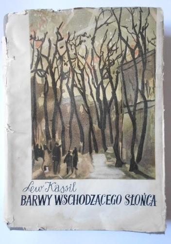 Okładka książki Barwy wschodzącego słońca