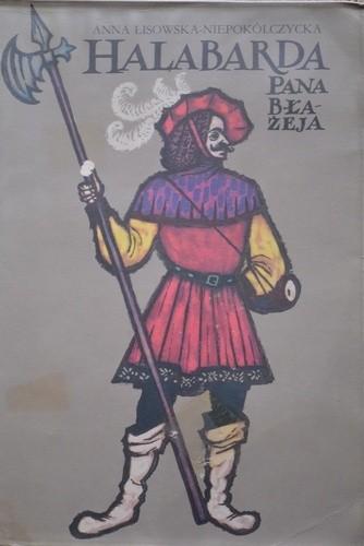 Okładka książki Halabarda Pana Błażeja