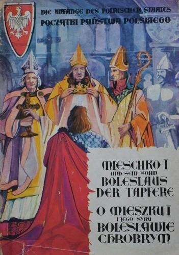 Okładka książki O Mieszku I i jego synu Bolesławie Chrobrym