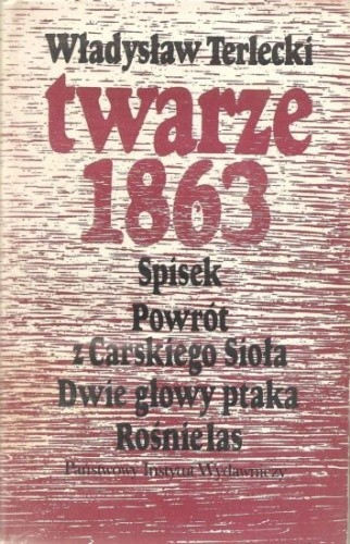 Okładka książki Twarze 1863