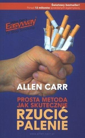 Okładka książki Prosta metoda jak skutecznie rzucić palenie