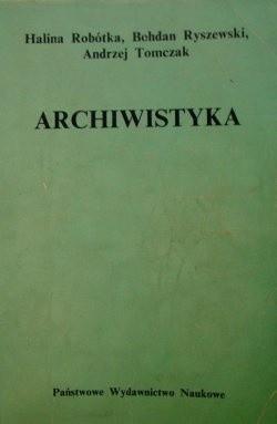 Okładka książki Archiwistyka