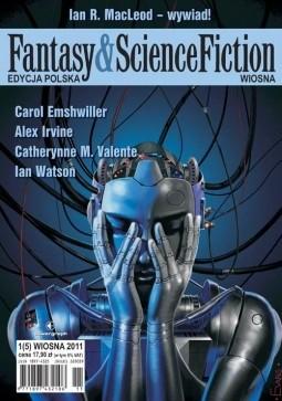 Okładka książki Fantasy & Science Fiction. Edycja Polska, #5 (Wiosna 2011)