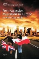Okładka książki Post-Accession Migration in Europe – a Polish Case Study