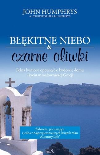 Okładka książki Błękitne niebo i czarne oliwki