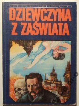 Okładka książki Dziewczyna z zaświata; Dusze w mrokach