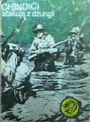 Okładka książki Chindici atakują z dżungli
