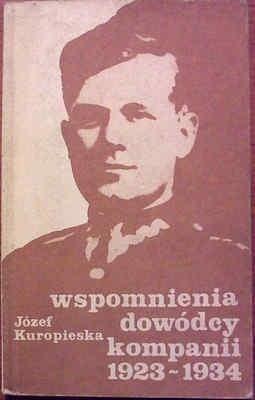 Okładka książki Wspomnienia dowódcy kompanii 1923-1934