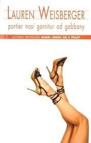 Okładka książki Portier nosi garnitur od Gabbany