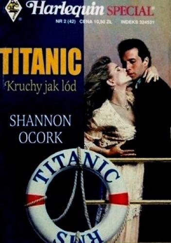 Okładka książki Titanic kruchy jak lód