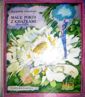 Okładka książki Mały pokój z książkami