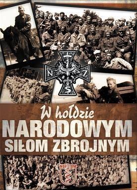 Okładka książki W hołdzie Narodowym Siłom Zbrojnym
