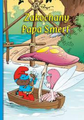 Okładka książki Zakochany Papa Smerf