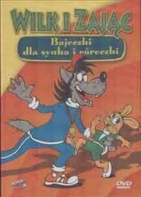 Okładka książki Wilk i Zając.  Bajeczki dla synka i córeczki