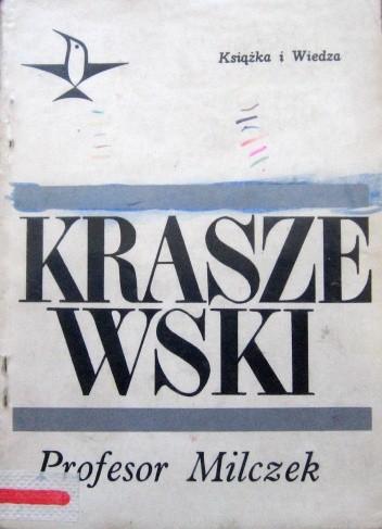 Okładka książki Profesor Milczek