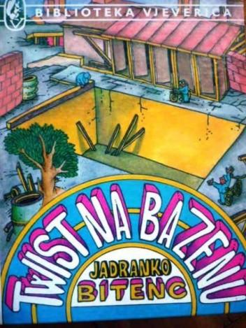 Okładka książki Twist na bazenu